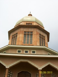 The Bahai Temple in Kampala