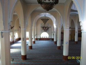 Inside the Mosque in Kampala